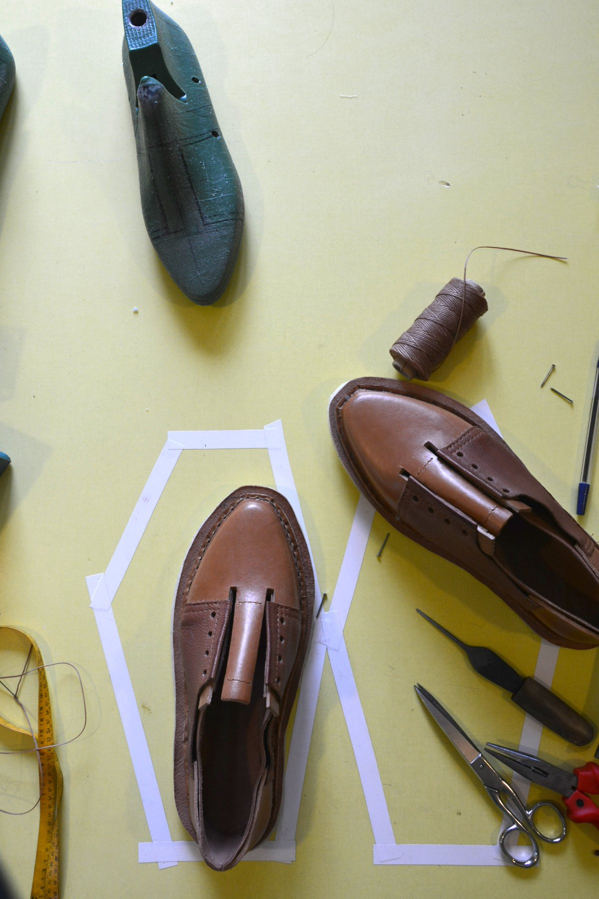 stitching outsoles